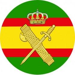 Pegatina Guardia Civil España