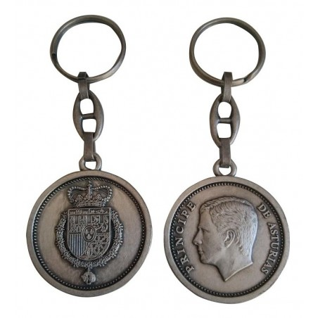 Llavero Medallon Principe Felipe