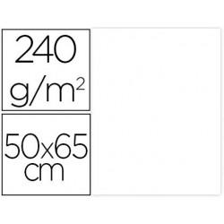 CARTULINA LIDERPAPEL 50X65 CM 240G/M2 BLANCO PAQUETE DE 25 UNIDADES