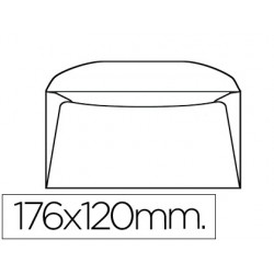 SOBRE LIDERPAPEL B6 120 X 176 MM -BOLSA DE 10