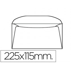 SOBRE LIDERPAPEL DL+ -BOLSA DE 10 115X225 MM