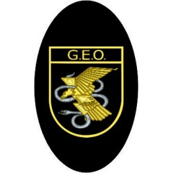 Pegatina Guardia Civil Ovalo sin Orla