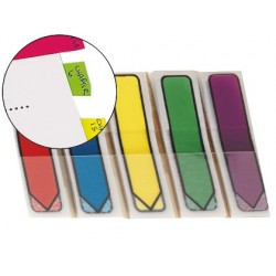 BANDERITAS SEPARADORAS FLECHAS DISPENSADOR COLORES BRILLANTESPOST-IT INDEX 684ARR1 100 BANDERITAS
