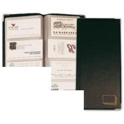 Tarjetero para tarjetas visita color negro simil piel...