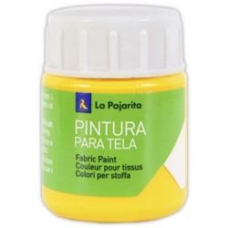 Pintura para tela la pajarita amarillo real 25 ml
