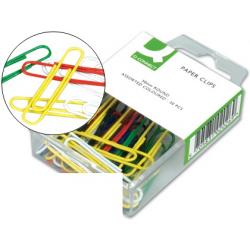 Clips colores q-connect -50 mm -caja de 30 unidades...