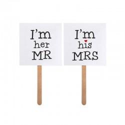 ACCESORIOS PARA PHOTOCALL MR & MRS