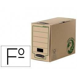 CAJA ARCHIVO DEFINITIVO FELLOWES FOLIO CARTON RECICLADO...