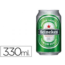 CERVEZA HEINEKEN LATA 330 ML