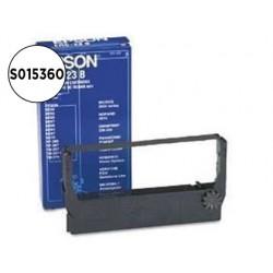 CINTA IMPRESORA EPSON ERC-23B NEGRA M-250 250A 255 255A...