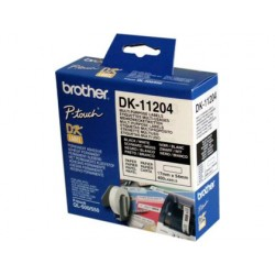 ETIQUETA ADHESIVA BROTHER DK11204 -TAMA?O 17X54 MM PARA...