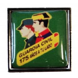Pin Guardia Civil 175 aniversario en resina