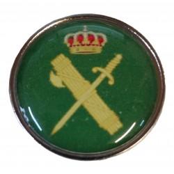 Pin Guardia Civil Aspas Verde en resina