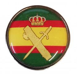 Pin Guardia Civil Aspas España en resina