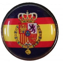 Pin Casa Real España en resina