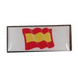 Pin Rectangular España en resina