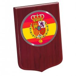 Metopa Madera Grande 245x175mm Con Chapa Casa Real España