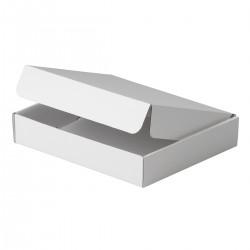Estuche cartón sencillo Blanco 260x210x30 mm