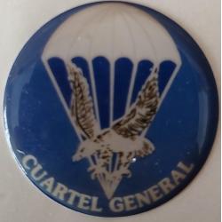 Pegatina Cuartel General con Relieve