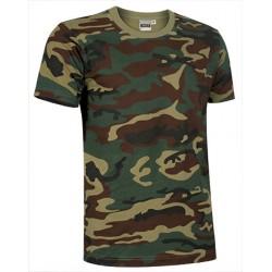 Camiseta Camuflaje JUNGLE