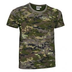 Camiseta Camuflaje SOLDIER