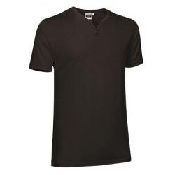 camiseta cuello abierto de manga corta fit LUCKY