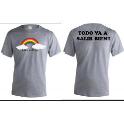 Camiseta Personalizada Adulto y Niño por Delante y Por...