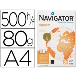 PAPEL FOTOCOPIADORA NAVIGATOR DIN A4 80 GRAMOS -4...