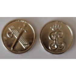 Amarraco Moneda Mus Metal Guardia Civil