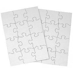 Puzzle cartón infantil Sublimación 12 Piezas