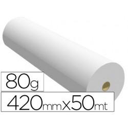PAPEL REPROGRAFIA PARA PLOTTER 420MMX50MT 80GR IMPRESION...