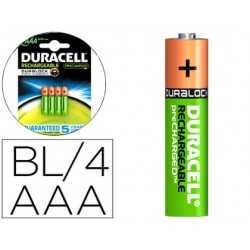 PILA DURACELL RECARGABLE STAYCHARGED AAA 800 MAH BLISTER...
