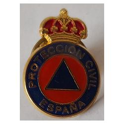 Pin Proteccion Civil Sin Placa