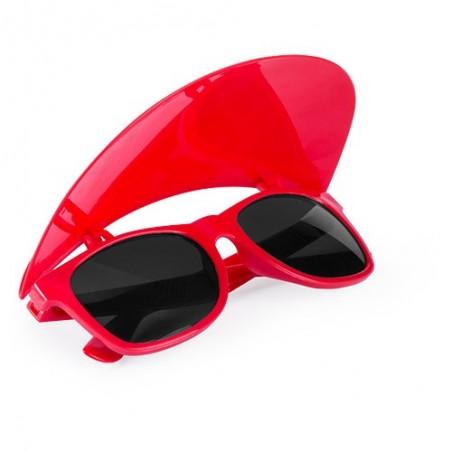 Gafas sol con visera