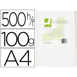 PAPEL FOTOCOPIADORA Q-CONNECT ULTRA WHITE DIN A4 100...