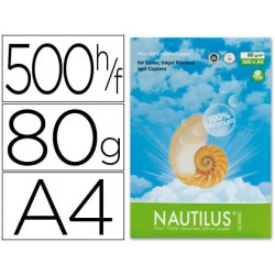 Papel fotocopiadora nautilus din a4 80 gramos -paquete de...