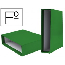Caja archivador liderpapel de palanca carton folio...