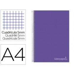 Cuaderno espiral liderpapel a4 micro jolly tapa forrada...