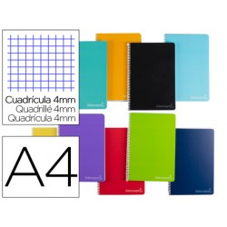 Cuaderno espiral liderpapel a4 micro witty tapa dura 140h...