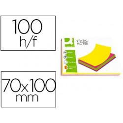 Bloc de notas magneticas quita y pon q-connect 70x100 mm...