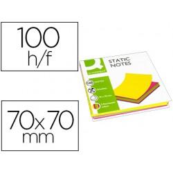 Bloc de notas magneticas quita y pon q-connect 70x70 mm...