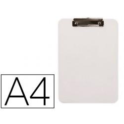 Portanotas q-connect plastico din a4 blanco 2,5mm