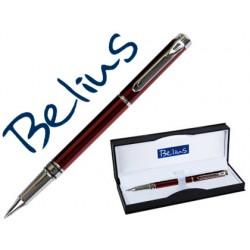 Roller belius nuremberg rojo punta 0,5 mm tinta azul en...