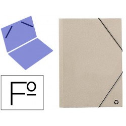 Carpeta mariola gomas folio 3 sencilla carton ecologico...