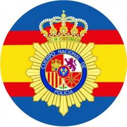 Pegatina Policia UIP Redondo España