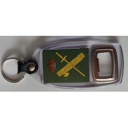 Llavero Abridor Guardia Civil 2 caras