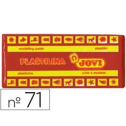 Plastilina jovi 71 marron -unidad -tamaño mediano.