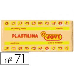 Plastilina jovi 71 carne -unidad -tamaño mediano.