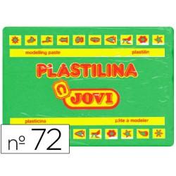 Plastilina jovi 72 verde claro -unidad -tamaño grande