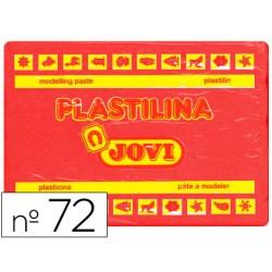 Plastilina jovi 72 rojo -unidad -tamaño grande